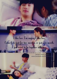 (Jeon Ji Hyun and Kim Soo Hyun) I love this quote almost as much as the one where Min Joon says he loves Song Yi -- My Love from Another Star, My Love from the Star Hyun Kim, Jun Ji Hyun, Korean Actors, Korean Dramas, K Quotes, Motivational Quotes, My Love From Another Star, Korean Drama Quotes, Playful Kiss