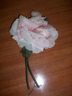Pink Silk Flower For Crafting by MICSJWL on Etsy, $5.00
