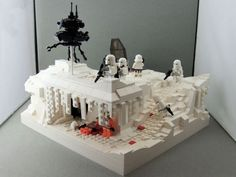 Cool Hoth set up.