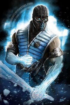 Hi guys, as a huge Mortal Kombat fan I decided to draw Sub-Zero. He always was my favorite character as long as I remember. I really enjoyed drawing this one, maybe I'll give a try on another MKX c...