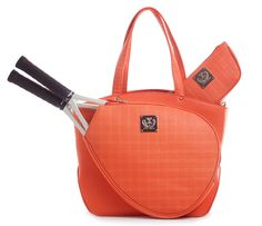 Cassanova Quilted Tangerine www.CourtCoutureTennis.com Tennis Bags, Tennis Gifts, Mobile Makeup Artist, Sport Tennis, Team Gifts, Tennis Players, Bag Sale, Bag Making, Fashion Backpack