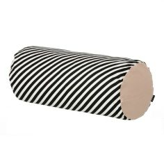 Ferm Living Nackenrolle Black Stripe #artvoll #Colors #Black #Schwarz #AllesIn www.artvoll.de