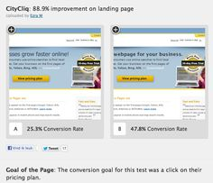 A/B Testing Landing Page Conversions Online Graphic Design, Search And Find, First Page, App Design, Landing, Application Design