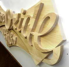 Wooden Letters | Danthonia Designs Blog