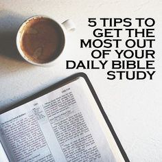 How to study the Bible - a must read, especially if you're planning to read the entire Bible in 2014!