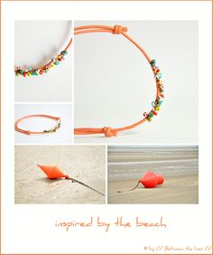 Adjustable seed bead bracelet,  inspired by the beach ~ by Between the Lines  #handmade #jewelry #DIY