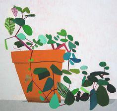 """artwork by """"jonas wood"""" seen on vlinspiratie.blogspot.com"""
