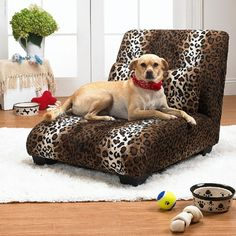 Have to have it. Enchanted Home Pet Elliot X-Large Pet Chaise Lounge - $116.31 @hayneedle