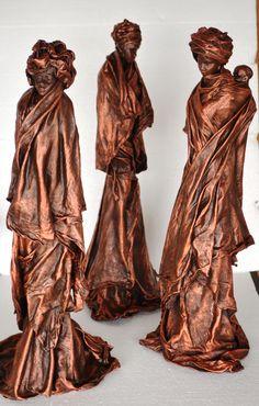 Powertex Art Figurines
