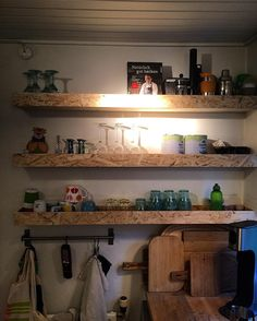 New kitchen? Shelves in OSB wood from designritter.com #handmade #designritter #osb #wood #kitchen #home #house #style #design #furniture #interiør #interior #craft #scandinavian #eco #upcycling #nature #scandinaviandesign #nordicdesign #interiors