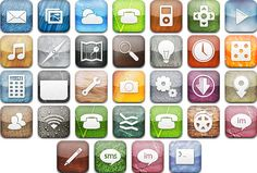 PhoneIcons Mix21 Crock Pot Soup, Crockpot, Icons, Tech, Technology, Slow Cooker, Crock Pot, Ikon, Icon Set