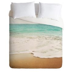 DENY Designs Bree Madden Ombre Beach Lightweight Duvet Cover