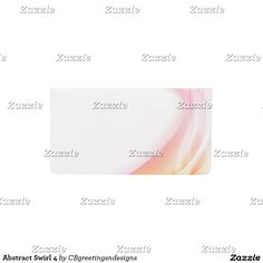 Abstract Swirl 4 Checkbook Cover