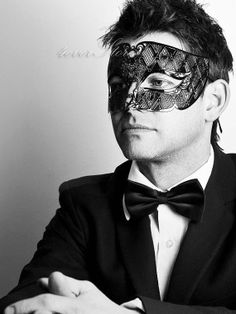 New Handsome Black Masquerade Mask Laser Cut Men's by 4everstore, $32.95