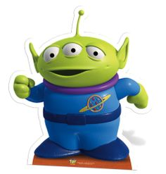 Toy Story Little Eco-friendly Alien Lifesize Cardboard Cutout. Little Eco-friendly Man Toy … Alien Do Toy Story, Toy Story 3, Toy Story Party, Andys Room Toy Story, Toy Story Decorations, Slinky Toy, Figurine Disney, Toy Story Cupcakes, Imprimibles Toy Story