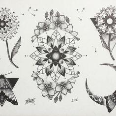 awesome Top 100 dandelion tattoo - http://4develop.com.ua/top-100-dandelion-tattoo/ Check more at http://4develop.com.ua/top-100-dandelion-tattoo/