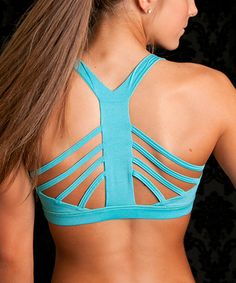 Teal Unstoppable Sports Bra