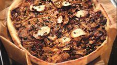 Картофельный пирог с грибами , пошаговый рецепт с фото