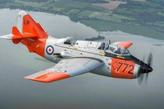 Royal Navy Fleet Air Arm - Fairey Gannet (Janet) Tail Code (LM) Modex No. Operated by Wings of Steel Foundation, New Richmond, Wisconsin Airplane Fighter, Fighter Aircraft, Fighter Jets, Military Jets, Military Aircraft, Aircraft Propeller, British Armed Forces, Commercial Aircraft, Royal Navy
