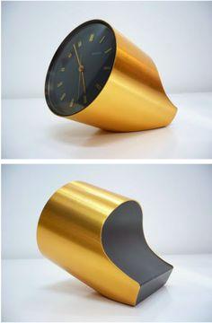 'secticon clock' designed by angleo mangiatotti (1960)