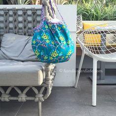 """Tutorial Tuesday: eine ideale Begleiterin für den kleinen Strandgang – die """"Reversible Mini Beach Bag"""""""