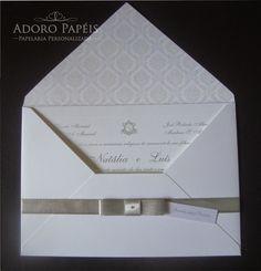 tag no convite de casamento clássico - Pesquisa Google