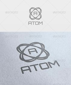 Atom Logo  #GraphicRiver         File: -  PSD - Vector -  CMYK - Text can change   Fonts: Orbitron –  .fontsquirrel /fonts/Orbitron     Created: 21March12 GraphicsFilesIncluded: PhotoshopPSD Layered: Yes MinimumAdobeCSVersion: CS2 Resolution: Resizable Tags: AtomLogo #emd #todik