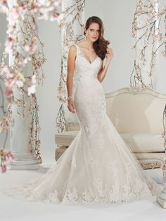 Style Y11400 (Margaery) wedding dress • The amazing Sophia Tolli collection for spring 2014 is full of sparkling, sexy gowns