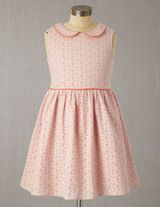 Broderie Party Dress (Provence Dusty Pink)