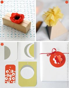 Roundup: 35 DIY Holiday Gift Tag and Topper Ideas