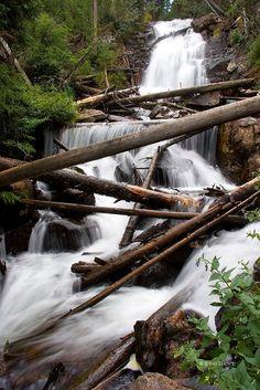 Fern Falls in Rocky Mountain National Park, Colorado