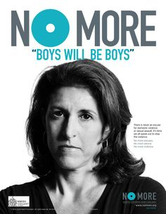 "No More ""Boys Will Be Boys"" 