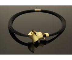Collier Ammonit gold 750 Thomas Garcia-Greno #anticlastic #juwelierleipzig
