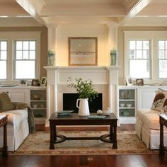 Fireplace Craftsman Style Design, Pictures, Remodel, Decor and Ideas - page 2