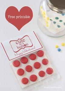 Bag of kisses Valentine I Heart Nap Time   I Heart Nap Time - Easy recipes, DIY crafts, Homemaking