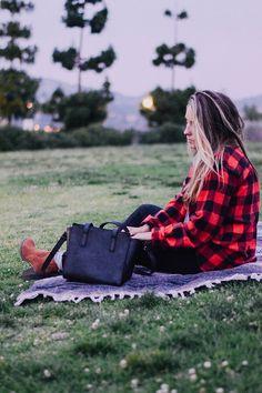 Park picnic / fashionABLE bag / iffoundmake.com
