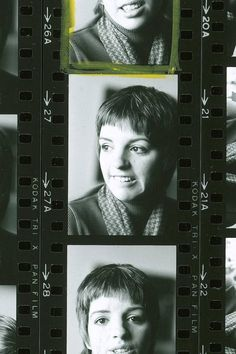 Vintage Contact Sheets: Liza Minnelli - The Cut