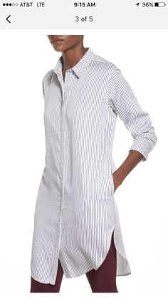 native youth longline striped shirt: nordstrom