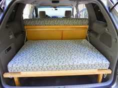 Mini van conversion to camper Mini Camper, Car Camper, Camper Van, Camper Caravan, Gypsy Caravan, Grand Caravan, Minivan Camping, Stealth Camping, Truck Camping