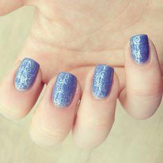 Nails essence nailart stamping