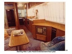 Classic #GMC #motorhome 26' 1973-1978 with a one-off interior.