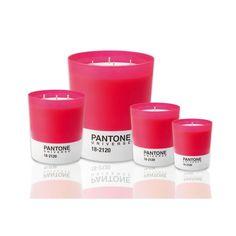 Gamme Bougies Parfumées PANTONE Honeysuckle