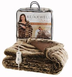 Relaxwell, Dreamland, Heated, Throw, Living Room, Faux Fur
