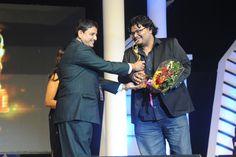 Pratim D. Gupta Receiving Best Film Award: Paanch Adhyay wins Best Film at Kalakar Awards
