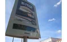 McDonalds se apropria de um clássico da comida rápida portuguesa - anuncia o McPrego - Blue Bus