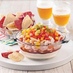 Canapés au fromage et bacon - 5 ingredients 15 minutes Antipasto, Mini Pains, Canapes, Fruit Salad, Finger Foods, Tapas, Acai Bowl, Entrees, Bacon