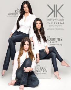 Kardashian Kollection Denim for Sears Campaign