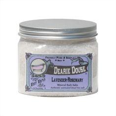 Dearie Douse - Lavender Rosemary, Dead Sea Salt Bath