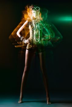 Painting with available light fashion photography.  #greenwithenvy #lifeinstyle