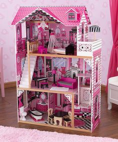 Another great find on #zulily! Amelia Dollhouse #zulilyfinds